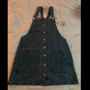 Denim - Overall skirt denim
